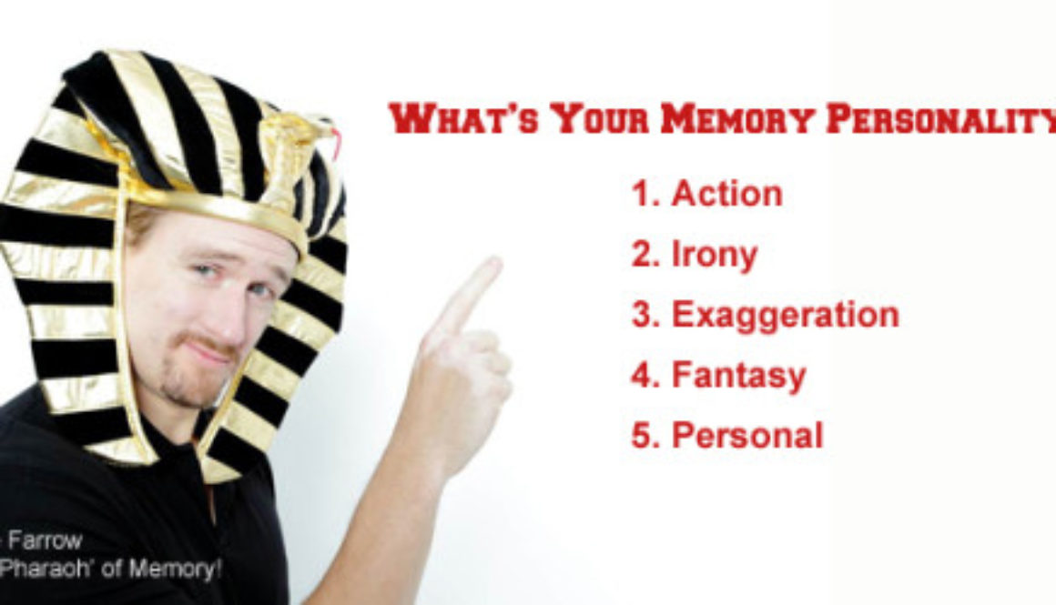 Dave Farrow - College Speaker - Memory Personality