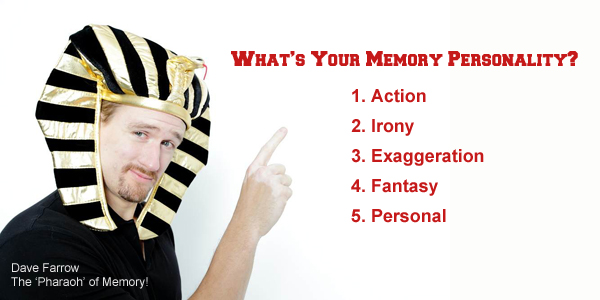 Did you know you have a memory personality?