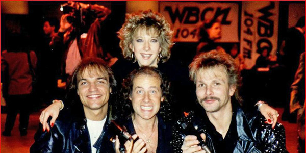 Dayna Steele and Scorpions