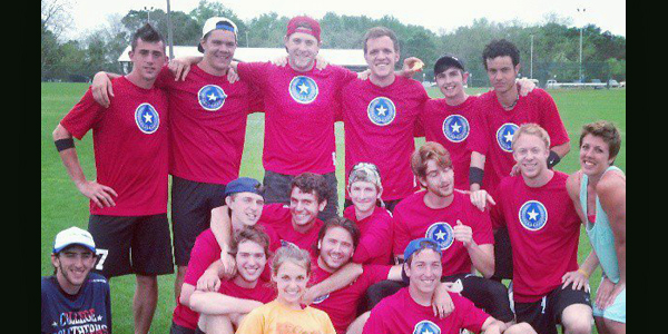 Tripp Stanford - ultimate frisbee team